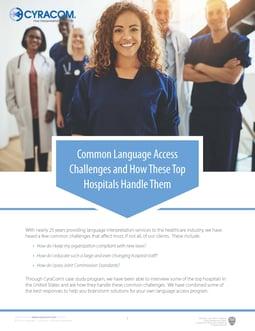 Common Challenges Case Study