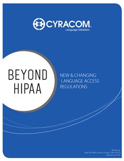 Beyond HIPAA Whitepaper (CyraCom) Cover.png